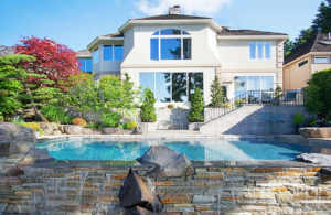 Luxury-Pool-Stone-Wall-Waterfall